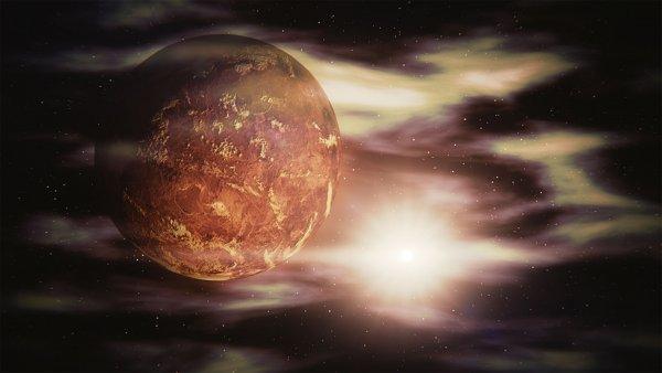 NASA собирается исследовать кислотные облака Венеры с помощью дирижаблей