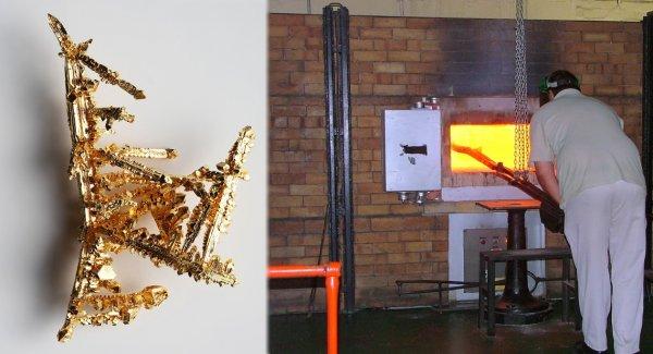 Учёные научились плавить золото при комнатной температуре