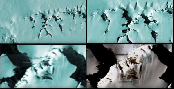 В Антарктиде ученые обнаружили неизвестные руины