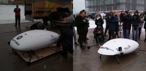 Стала известна причина падения аэротакси на испытаниях в «Сколково»