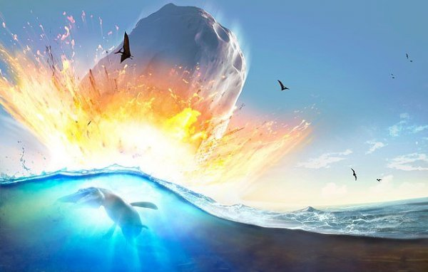 Ученые: Астероид-убийца динозавров стал причиной цунами в Мексиканском заливе