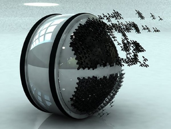 Колумбийский студент изобрел систему летающих роботов-пылесосов
