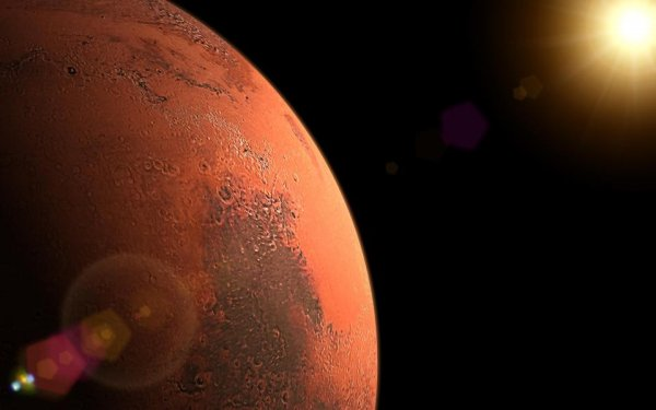 Ученые: Пришельцы могут прятаться под землей на Марсе