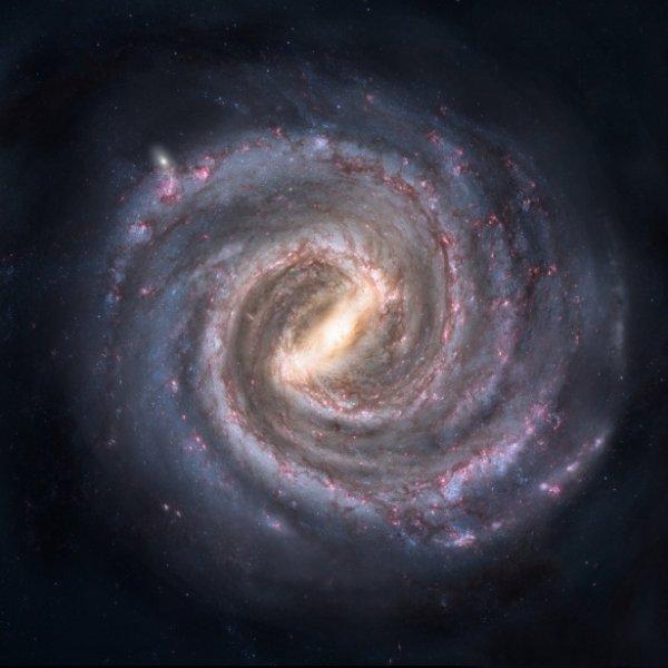 С помощью новой 3D-карты можно увидеть форму Млечного Пути