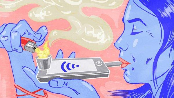 Учёные: Родители зависимость от соцсетей ставят вровень с наркотиками
