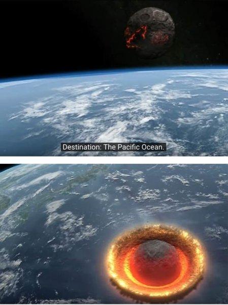Людей ждёт адский сценарий: Ученые смоделировали падение астероида-убийцы на Землю