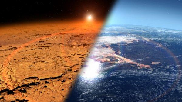 Кладбище первых людей: Марс был обитаем до внезапного нашествия Нибиру
