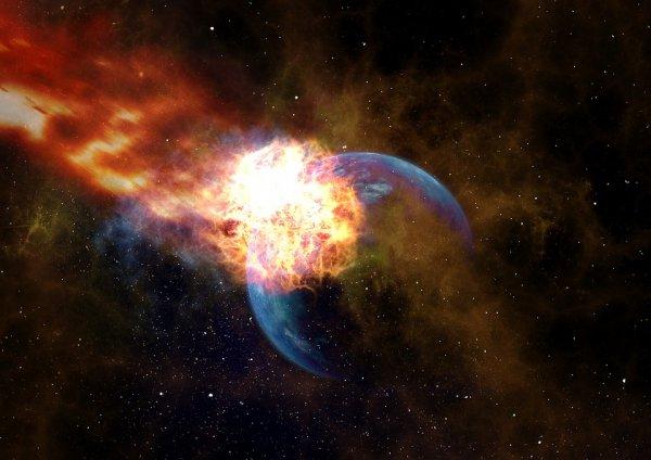 Армагеддон близко: Жители пяти стран Европы заметили в небе огненные шары