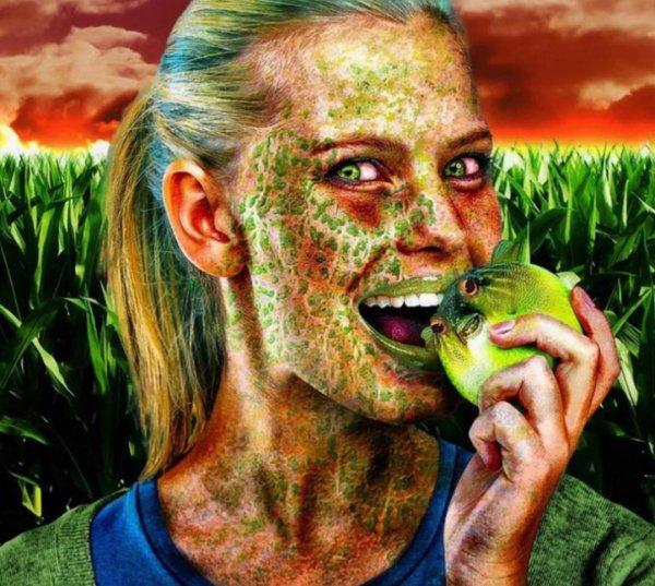 Мутанты-каннибалы: Людям придётся есть ГМО-продукты из-за перенаселения