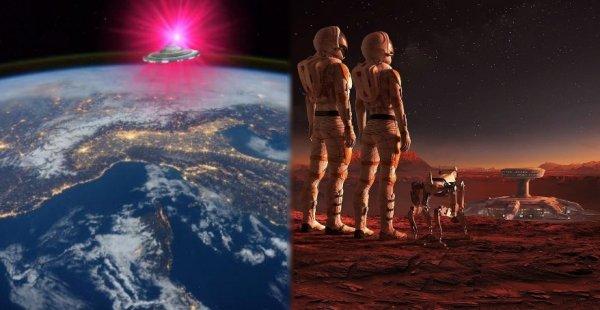 Земля следующая: Марс был обитаем до атаки пришельцев с Нибиру