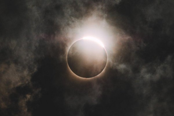 7 марта синоптиками зафиксировано странное солнечное затмение