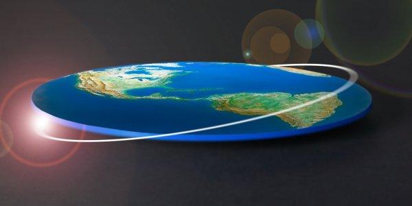 Грандиозный обман: Теоретик заговора обнаружил, что Земля всё-таки плоская