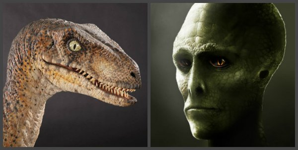«Они вернулись»: Рептилоиды с Нибиру — это эволюционировавшие динозавры