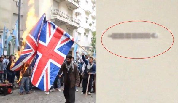 Великобритания на пороге Третьей мировой: Лондон захлестнула волна преступлений после появления в небе сигарообразного НЛО