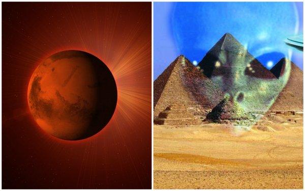 Пришельцы мигрировали в Египет после катастрофы: Уфолог нашёл на Марсе египетскую гробницу
