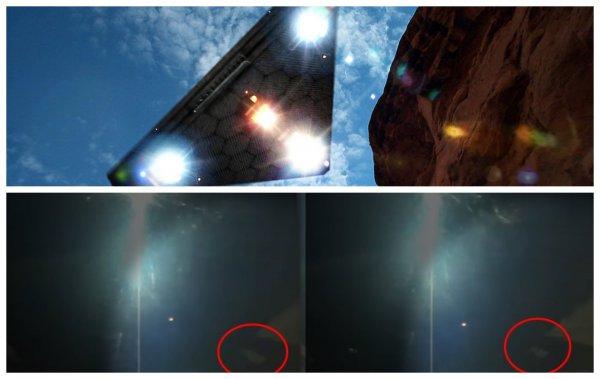 Нибиру уже видно с МКС - Космонавты засняли у Солнца телепортацию планеты Х и полёт  корабля пришельцев