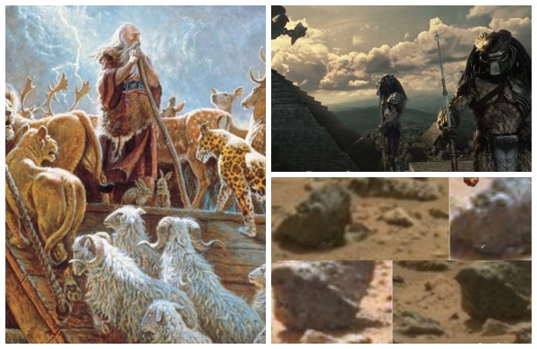 На Марсе нашли доказательство «библейского потопа» - Руины древнего города запечатлены на снимках NASA