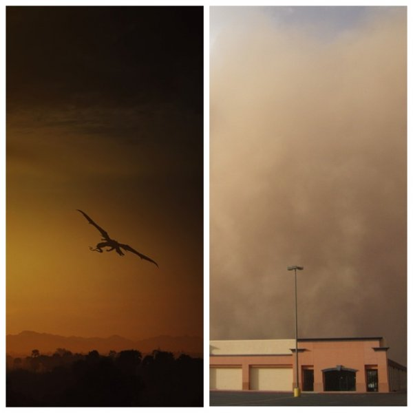 Дубай в опасности: Драконы-пришельцы с Нибиру спровоцировали хаос на дорогах