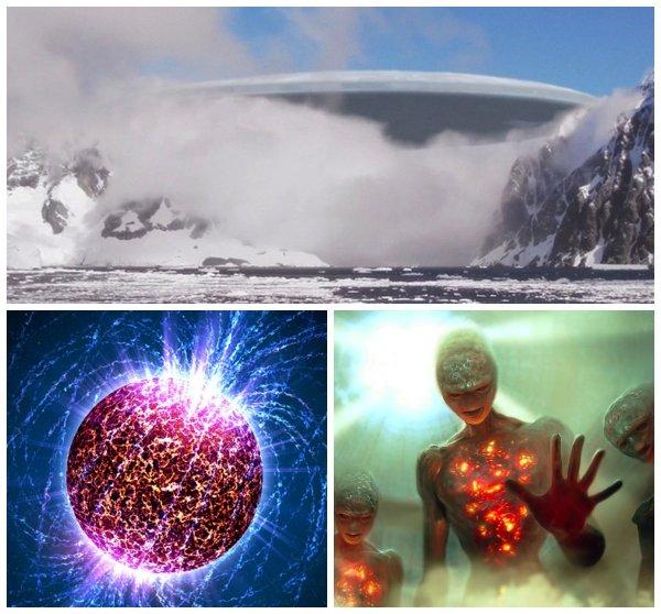 Ядерная паста с Нибиру: НЛО испугались рассекречивания тайн Антарктиды