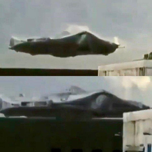 Пришельцы среди нас – огромный неопознанный летающий объект засняли в США