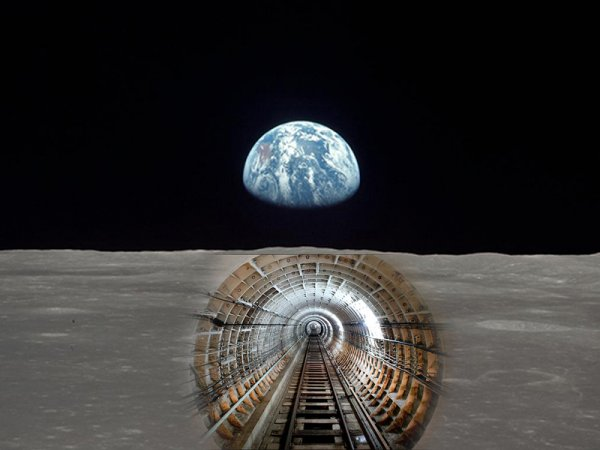 Для первых поселенцев: Инженеры создают комбайн для бурения тоннелей на Луне