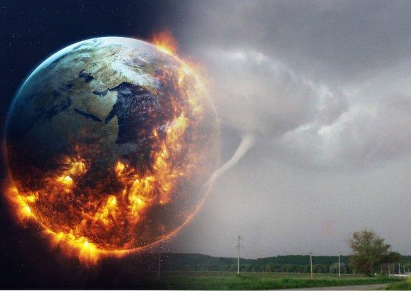 Земля «взорвётся» через 6 месяцев – На Краснодарский край обрушилось апокалиптическое торнадо
