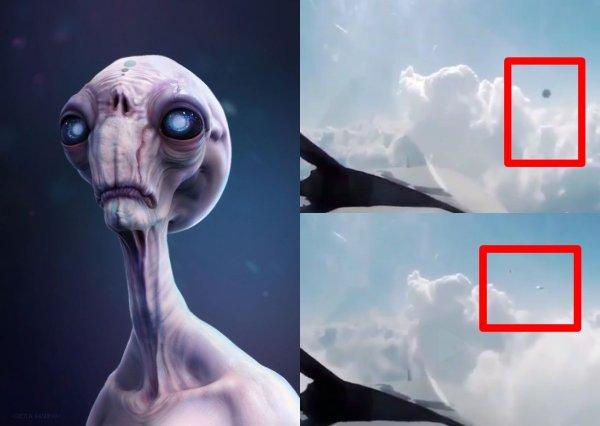 НЛО упал в облака: Видео с пришельцами «взорвало» Instagram