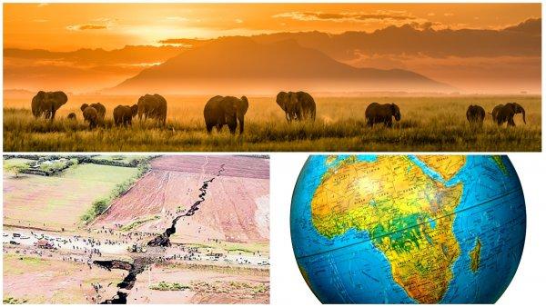 Землетрясения в Африке разделят материк на два континента