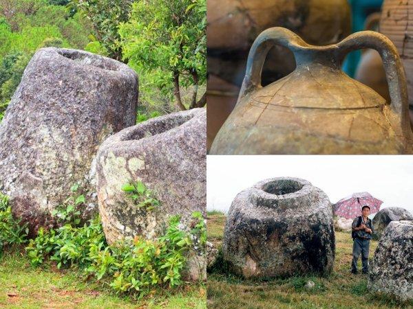 В Лаосе обнаружили странное кладбище  - «Кувшины великанов» оказались погребальными урнами