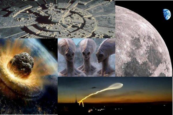 На Луне найден инопланетный город - Пришельцы готовятся напасть на Землю 9 июня