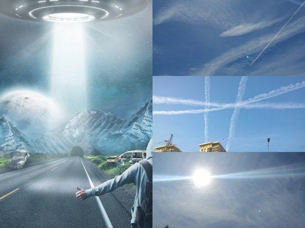 Распылили газ над Москвой? Следы пришельцев подтверждают страх о климатическом апокалипсисе