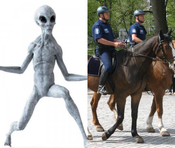 Они перестали скрываться: Уфолог обнаружил пришельца, гуляющего по парку Сантьяго