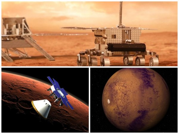 «Роскосмос» назвал сроки испытания десантного модуля для посадки на Марс