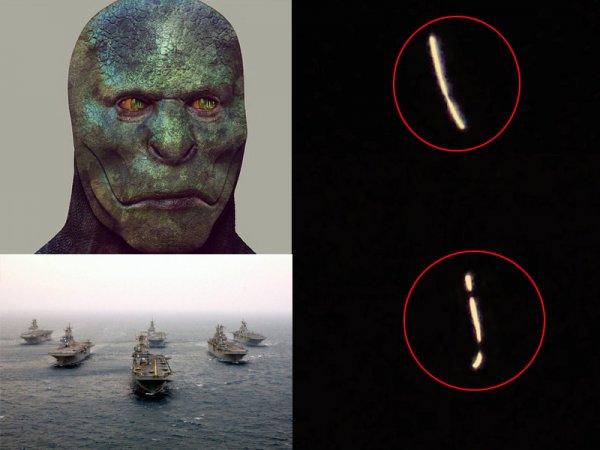 Места для атаки? Пришельцы с Нибиру расставляют маяки над военными базами