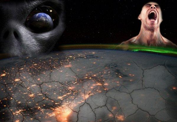 Как раки в кастрюле: Пришельцы разрушают озоновый слой Земли ради Всемирного потопа