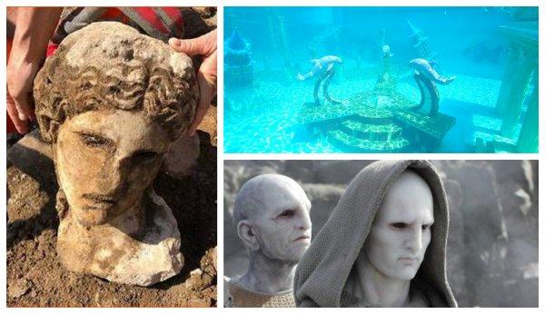 Голова атланта? Находка в Риме обескуражила археологов