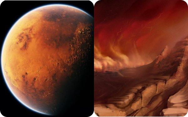 На Марсе нечем дышать из-за ветра: Найдены особенности движения песка Красной планеты