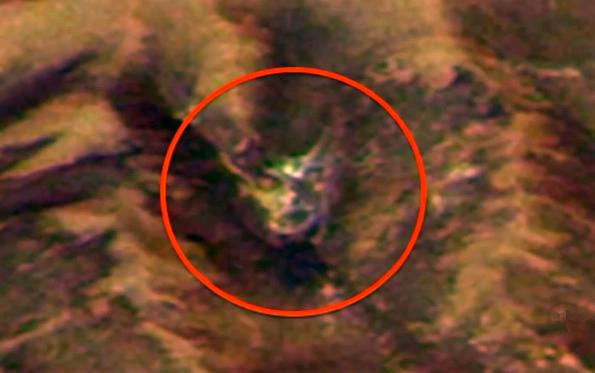 Хозяин Марса: В скалах планеты засняли рогатого Демона