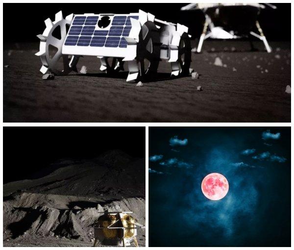 NASA испытывает крохотных роботов для освоения Луны