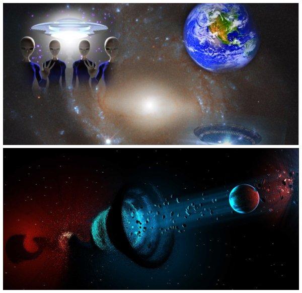 Двойник Млечного пути: Пришельцы с параллельной галактики открыли врата времени